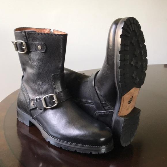 bb7fa0092aa9 Jimmy Choo Men s Size 12M (42) Blk Rugged Boots